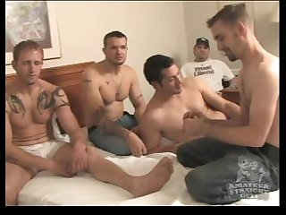 Straight Guys Kai, Vince, Paul & Talon Explore Each Other's Bodies