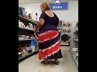 Ssbbw black granny upsk