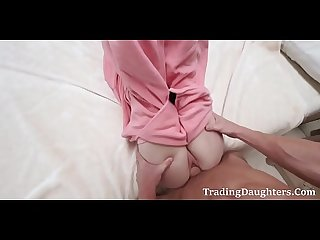 Sleeping and fucking dad daughter