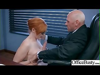 Office sex with busty horny sluty hot girl lauren phillips mov 16
