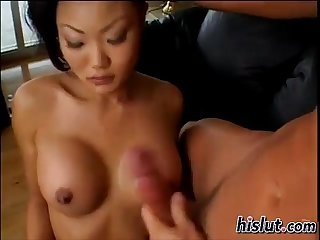 Lucy pleasured this cock