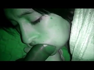 Sleeping teen sucking better