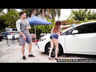Mommy got boobs mamas car wash scene starring diamond foxxx and kyle mason
