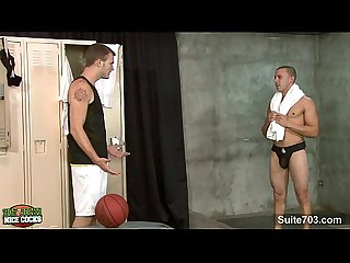 Hot jocks taking their nice cocks