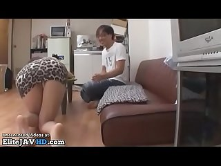 Japanese busty idol fucks a fan at his home more at elitejavhd com