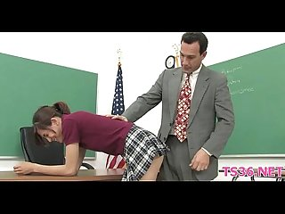 Teacher shafts student