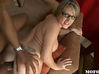 Black cock in milf ass- what's her name ?