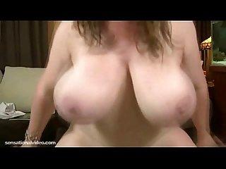 Sexy milf fucks big black cock