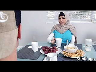 2 black schlongs for arab babe