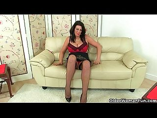 Britain s best assets stockings high heels and big tits