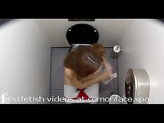 Spycam toilet Pissing girl 21