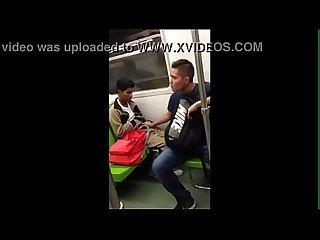 Lfd chavito caliente en el metro df