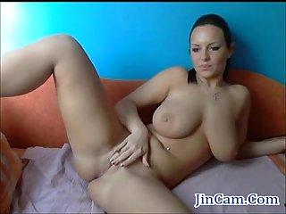 Busty bigboob Masturbating herself livecam