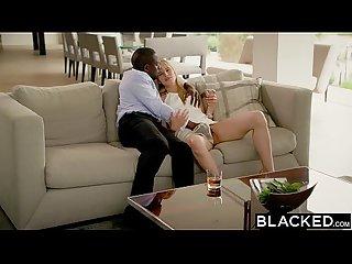 Blacked blonde fiance jillian janson gets huge bbc in her ass