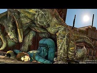 Lara croft gets fucked in all her holes vert best of tomb raider 3d cartoon Porn
