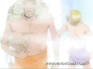 hoạt hoạt Nami E xuất tomando tắm một trong những Miếng