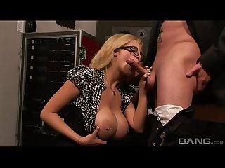 Big Tits Secretary Katie Kox Fucked Hard