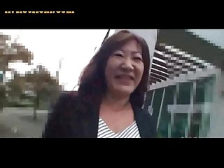 52yo hairy japanese granny michiko okawa pt 1 uncensored