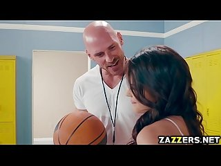 Keisha grey blowjob johnny sins big cock in the locker room