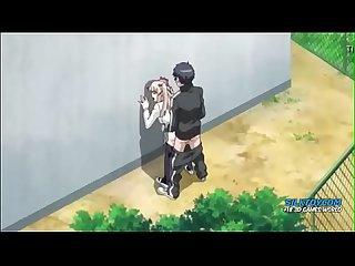 school girl best anime fuck on backyard