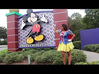 Twerking at Disney World 'Princess gone wild' starring Caramel Kitten