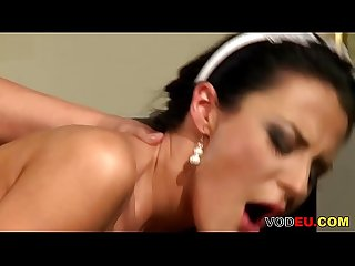 VODEU - Cleaning lady gets fucked by her boss