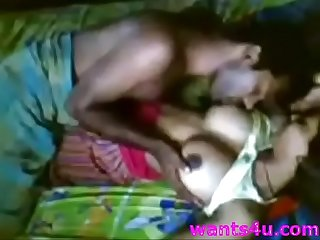 Couple having sex front of cam