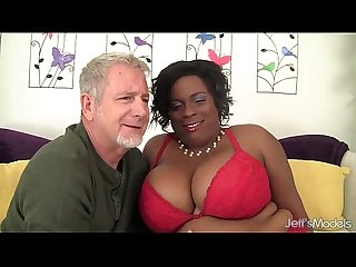 Sexy black plumper marliese Morgan gets fucked hard