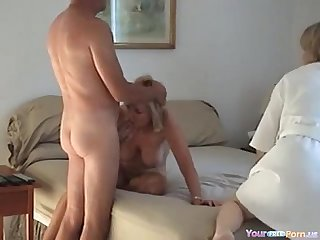 Homemade swinger foursome