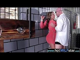 Big Long Hard Cock Licked Sucked And Ride By Mature Lady (richelle ryan) video-22