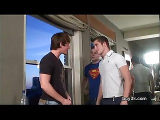 Brent corrigan gets double dicked by hot twinks