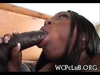 Sex with chocolate hottie