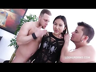 Asian nympho may thai and jessica spielberg get their lights fucked out