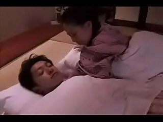 Japanese mom needs a fuck from son