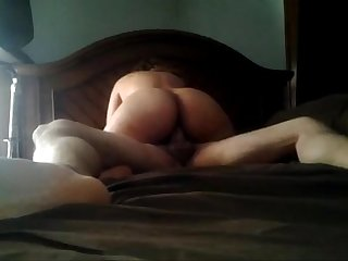 Riding me and a creampie at the end