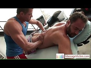 Dodge Wolf gets his first gay massage 3 By MassageVictim