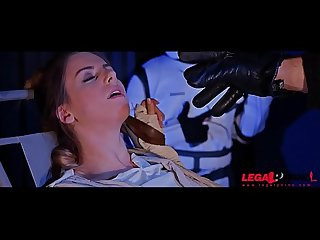 Busty star wars princess stella cox ass fucked by stormtrooper S black dick gp099