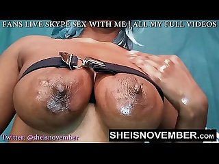 TEEN UDDERS FLOPPING BIG PRETTY NATURAL TITS BY MSNOVEMBER OIL NIPPLES BOOBS TIE