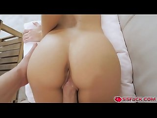 Zoe take stepbros cock in her cunt