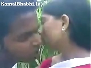 Indian bhabhi big boobs sucked in park by devar