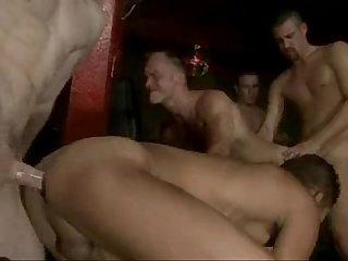 Backroom orgy