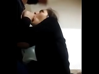Desi blowjob in office