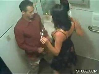 Toilet blowjob amateur hidden amateur unseen
