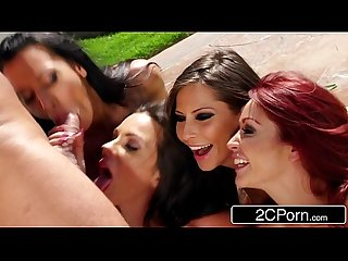 Slutty Car Wash BJ - Kirsten Price, Madison Ivy, Monique Alexander, Rachel Starr
