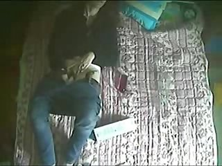 My sister testing her new toy hidden cam