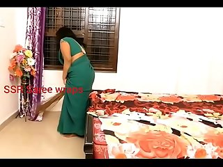 Indian servant forced sex in sexy saree