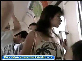 Naomi yamaguchi chikan fucked on bus