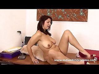 Indian sexy milf strip naked masturbation sex video