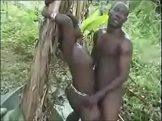 Hot Nasty Raw Hard African Jungle Fucking!!