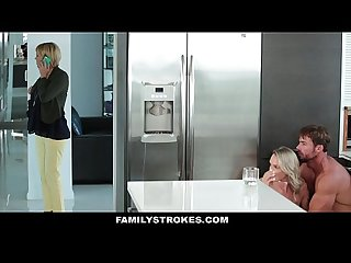 Familystrokes don t tell mom i fucked my step dad